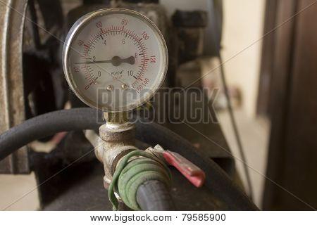 Air compressor  meter