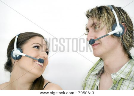 Call Centre Couple