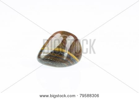 Polished Tiger's Eye Gemstone