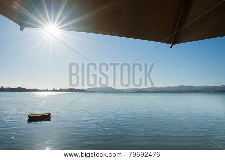 Summer morning scene
