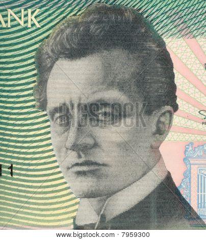 Estonia - Circa 1994: Rudolf Tobias