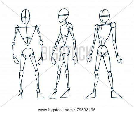 Human figure men b