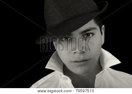 Nice Professional Portrait of a Handsome Latino Actor