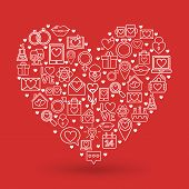 foto of valentine card  - St - JPG