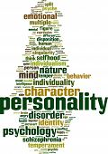 foto of personality  - Personality word cloud concept - JPG