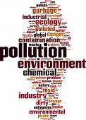 picture of noise pollution  - Pollution word cloud concept - JPG