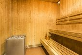 pic of sauna  - Sauna interior  - JPG