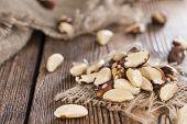 picture of brazil nut  - Heap of Brazil Nuts  - JPG