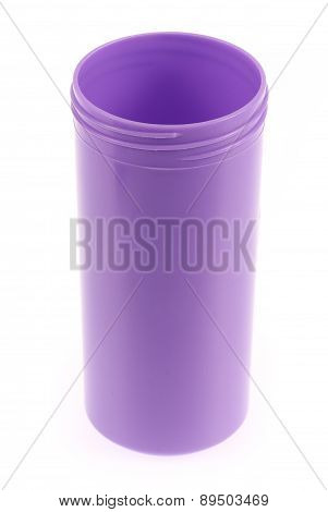 Purple Color Plastic And Bottle Water Canteen Tumbler