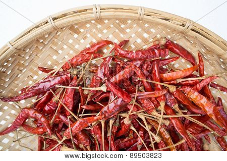 Dry Hot Chili Pepper Hot Spicy Heat Concept