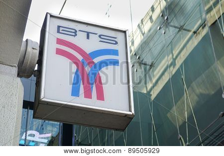 Logo Of The Bangkok Mass Transit System (bts)