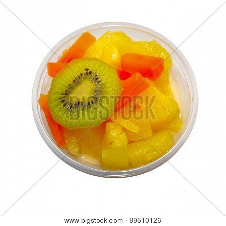 Fruits In The Cup, Thai Dessert