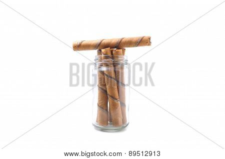 biscuit stick straw