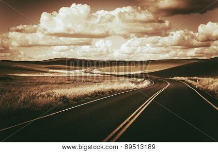 Scenic Winding Road