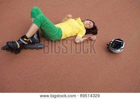 Skater injured
