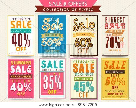 Mega collection of Big Sale Flyers with flat discount offer.