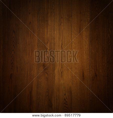 elegant wooden background texture with vignette.