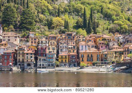 Varenna Village In Lake Como, Italy