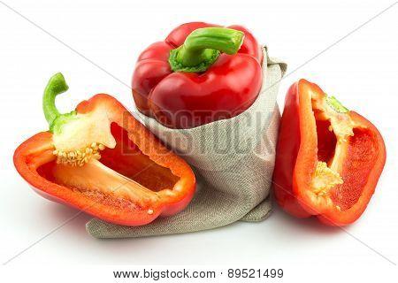 Ripe Red Sweet Pepper
