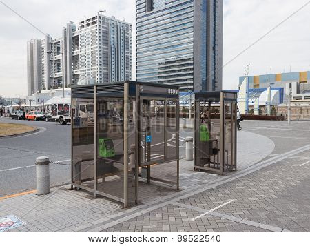 The Glass Phone Booths