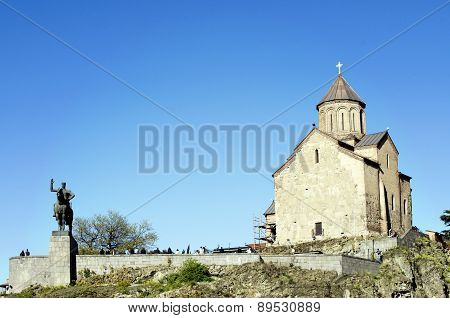 Tbilisi, Metekhi church