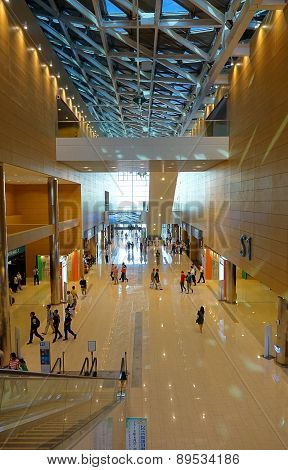 Interior View Of The Kaohsiung Exhibition Center