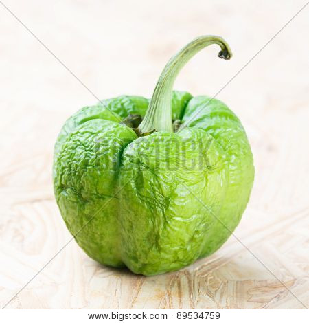 Wrinkled Green Bell Pepper