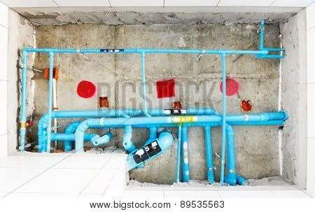 Electrical And Sanitary Distribution System