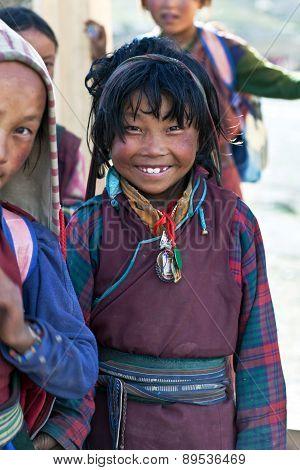 Tibetan Girl, Nepal