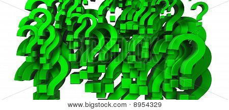 Green Question Mark