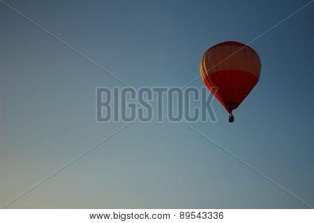 Red Hot Air Balloon