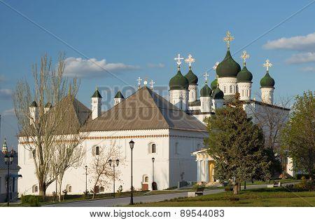 Trinity Cathedral in Astrakhan Kremlin