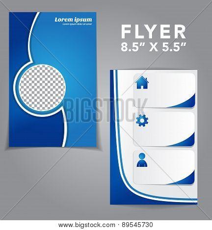 Flyer Vector Design Template