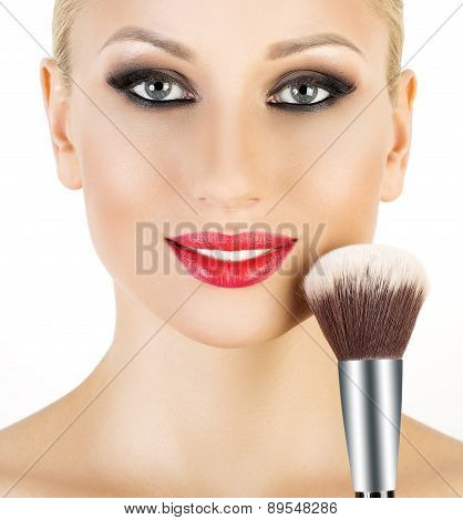 Cosmetic Powder Brush for Make up.