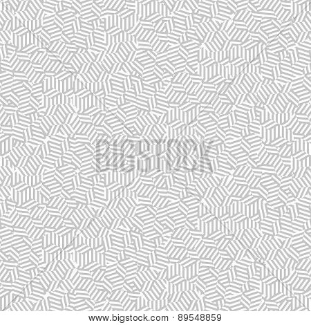 Seamless pattern with interweaving lines. Repeating modern stylish geometric background. Simple abst