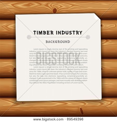 Timber Industry Background
