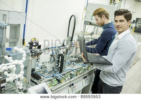 Engineer In The Factory