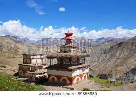 Ancient Bon Stupa in Dolpo, Nepal