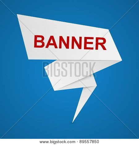 Vector Paper Banners For Your Text.