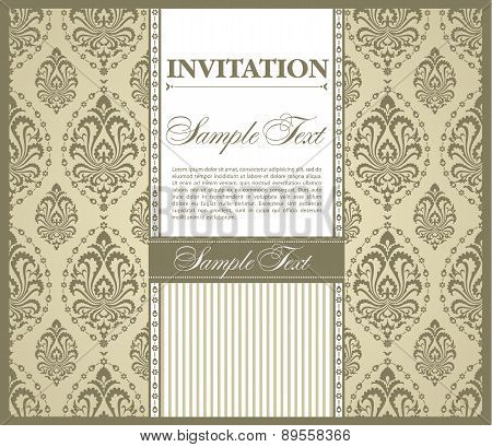Invitation Gretting Card