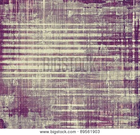 Vintage Template. With different color patterns: brown; gray; purple (violet)