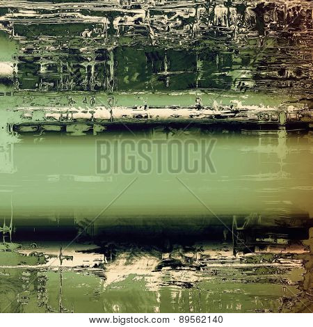 Grunge retro texture, elegant old-style background. With different color patterns: brown; gray; black; green