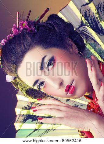 Girl in japanese style