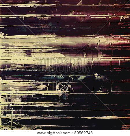 Vintage old texture with space for text or image, distressed grunge background. With different color patterns: brown; gray; purple (violet); black