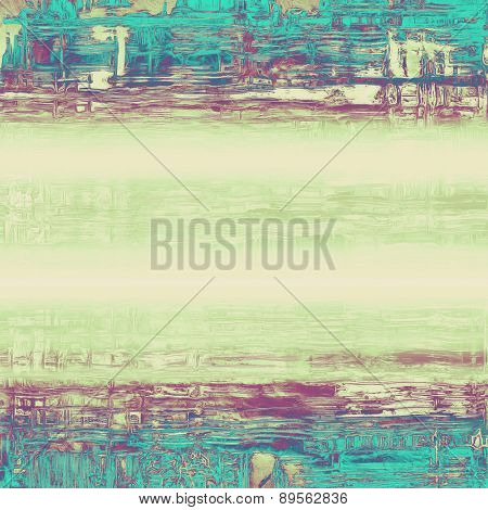 Grunge stained texture, distressed background with space for text or image. With different color patterns: gray; purple (violet); green; blue