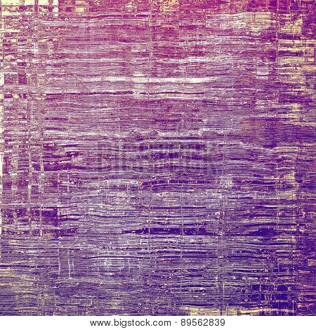 Old style detailed texture - retro background with space for text or image. With different color patterns: brown; purple (violet); pink; blue