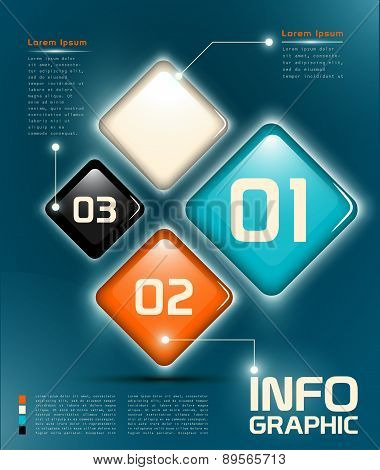 Infographic UI elements