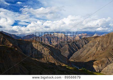 Himalayan Mountain Landscape, Nepal