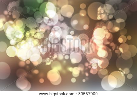 Smooth abstract colorful background with high quality gradient with beautiful twinkling bokeh