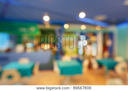 Blurred Canteen